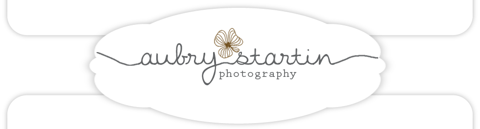 Aubry Startin Photography. Natural light Arizona wedding &amp; family photographer logo